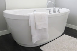 Bathroom interior design by Thrissur house contractors